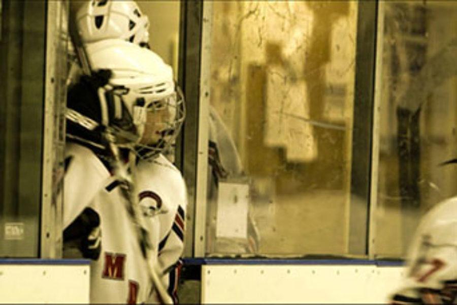 Ungdomslag i ishockey överraskade av flashmob