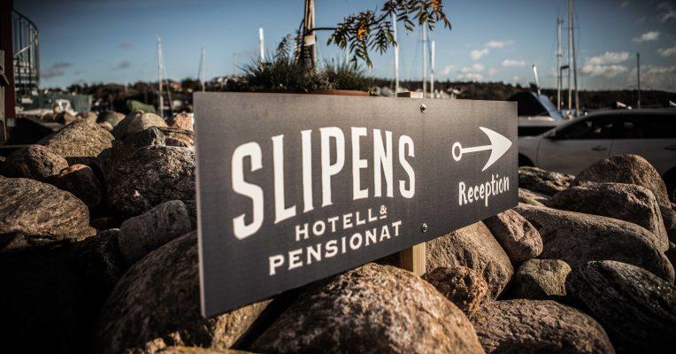 Slipens hotell på Skaftö